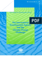 Climate Change and International Development