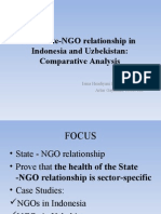 GROUP 15.the State-NGO Relationship in Indonesia and Uzbekistan Comparative Analysis