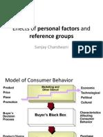 CB-Personal Factors n Ref Groups