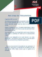Agenda TELECOM ParisTech final