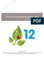 Sales Force Platform Portal Implementation Guide
