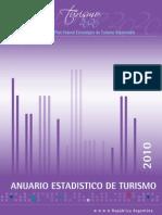 Anuario Estadístico de Turismo 2010