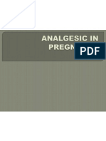 Analgesic in Pregnancy