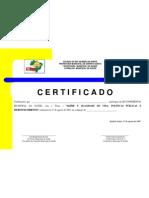 CERTIFICADO III conferência saúde