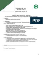 Normas e Procedimentos Para Higienizador