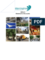 Warrington Statement of Accounts