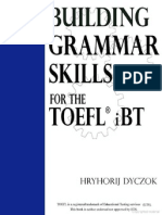 Building Grammar Skills for TOEFL IBT