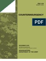 US Army Field Manual FM 3-24 Counterinsurgency