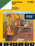 Technische Beschreibung Hydraulikbagger Einsatzgewicht 33,9 Bis 37,8 t Motorleistung