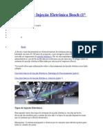 Sistemas de Injeção Eletrônica Bosch