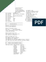 Simulation Parameters Setup