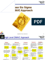 Lean Six Sigma DMAIC Approach