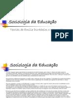Sociologia da Educação34