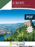 Europe Travel Brochure