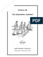 MAKALAH KEBUGARAN JASMANI