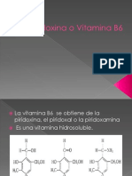 a o Vitamina B6