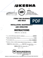 37551626 Stern Tube Bearings and Seal Installation Maintanance and Repair