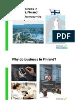 Doing Business in Jyvaskyla Finland