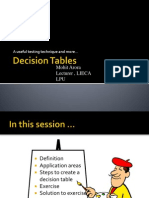 4.Lect-4 Decision Table Training Session