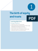 Birth of Equity and Trust