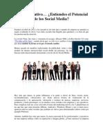 Como Ejecutivo… ¿Entiendes el Potencial de los Social Media?