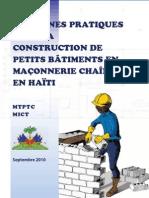 Mtptc Guide Bonnes Pratiques Construction Petits Batiments