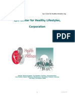The Epic Center For Healthy Lifestyles, Corporation-Business Proposal_2012