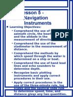 7 Navigation Instruments