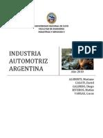 Historia de La Industria Automotriz Argentina - Informe