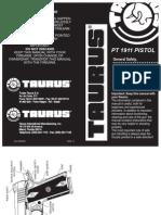Taurus 1911 Manual