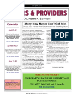 Payers & Providers California Edition – Issue of April 26, 2012