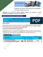 Advert Taught Postgrad 2012 Website Version Final