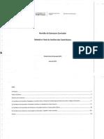 Relatório Final da Análise dos Contributos sobre a Revisao da Estrutura  Curricular 2012