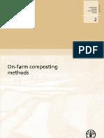 On-Farm Composting Methods