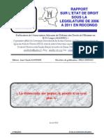 """ASADHO """"La démocratie sur papier, le peuple n'en veut plus !"""""""