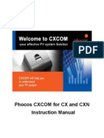 Cxcom Cx Cxn English