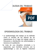 Epidemiologia Del Trabajo