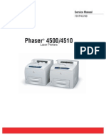 Xerox Phaser 4500, 4510 Service Manual