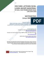 Prediksi UN Matematika SMP-R1