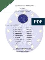 MAKALAH ORGANISASI INTERNASIONAL (Turki & Uni Eropa)