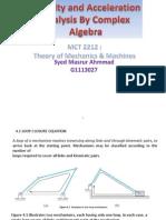 Complex Algebra