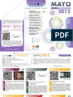 CAMON-Murcia. Programación Mayo 2012. Obra Social. CAM