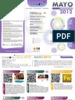CAMON-Alicante. Programación Mayo de 2012. Obra Social. CAM