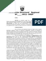 RECTIFICACION  Nº de DNI por RES-AFIS-RENIEC Alexander QUISPE CONDORI