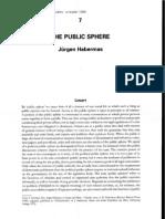 Habermas Public Sphere