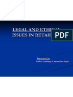 Ethics in RETAIL