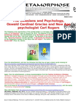 The Salesians and Psychology-oswald Cardinal Gracias and New Age Psychologist Carl Rogers
