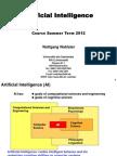 AI Block Course Summer Term 2012-1-29 v2