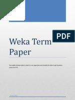 WEKA Term Paper