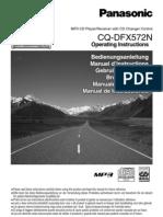 Panasonic CQDFX572N Book